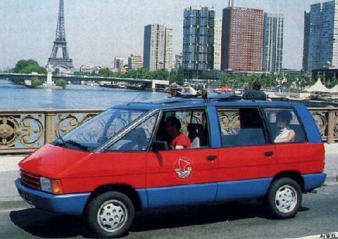 1986 Renault Espace Taxi Ville De Paris 1a