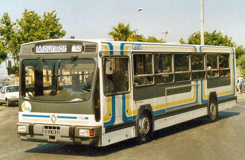 1986 RENAULT PR 100a
