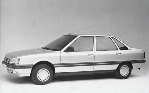 1987 Renault 21, Coche del Año 1987