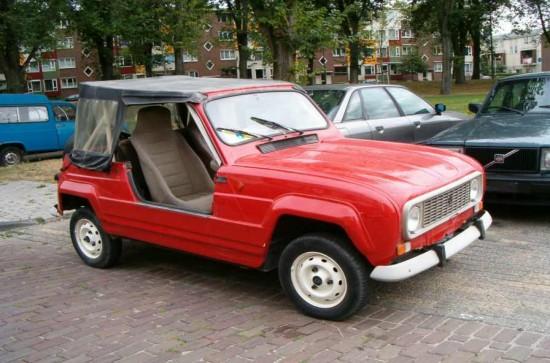 1987 Renault R4 JP4 Frog Cabrio