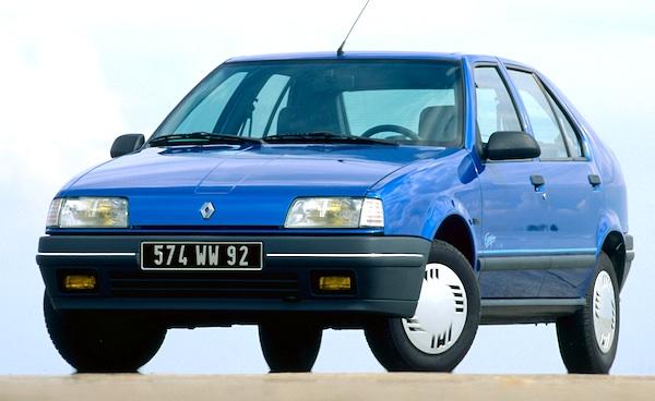 1989 Renault-19-Spain