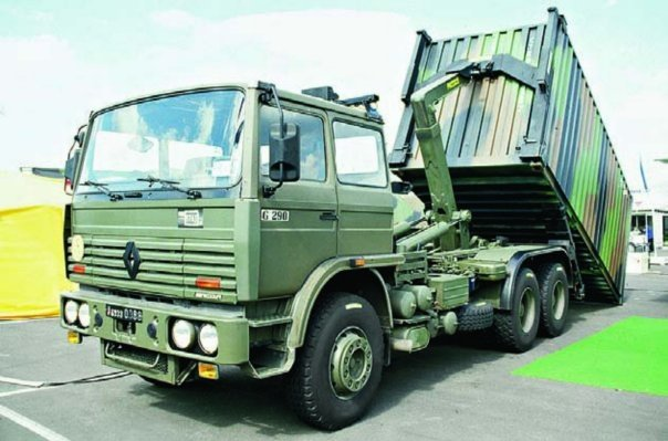 1989 Renault G-290, 6x6