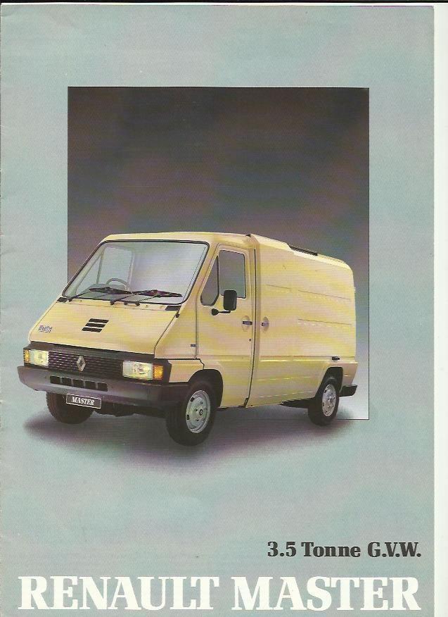 1989 Renault Master