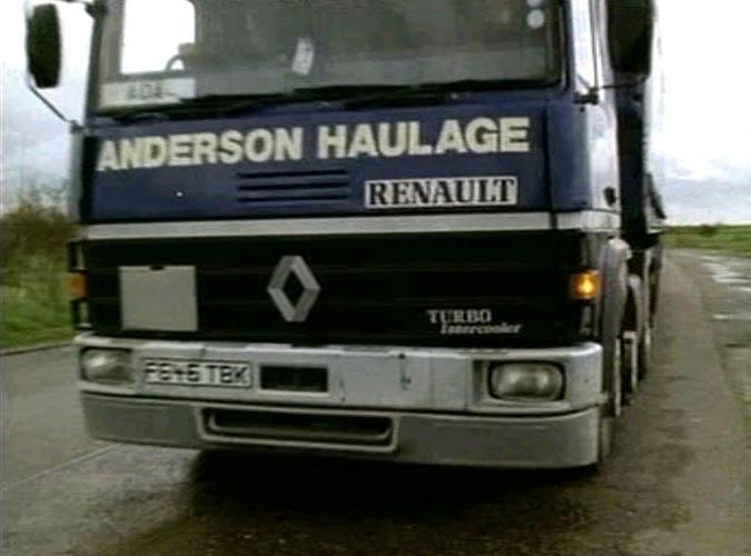 1989 Renault R series