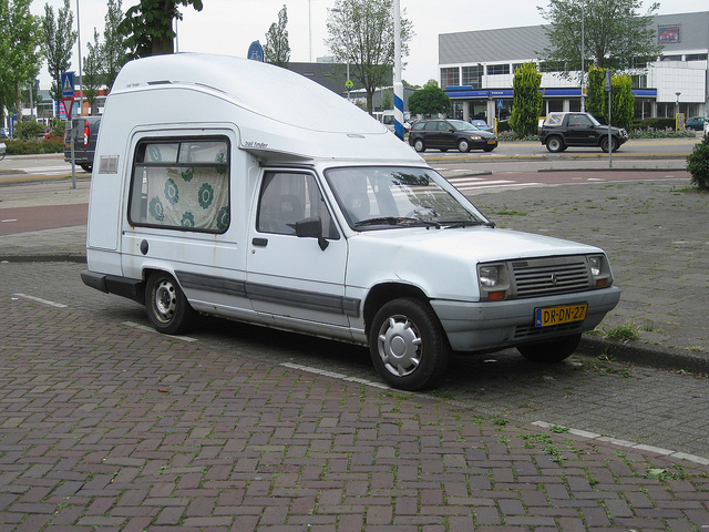 1990 RENAULT Express 1.4 Trail Finder, camper