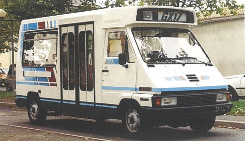 1990 Renault Traffic heuliez_gx17