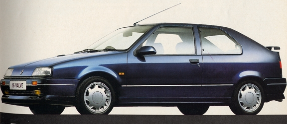 1991 Renault 19 16-valve