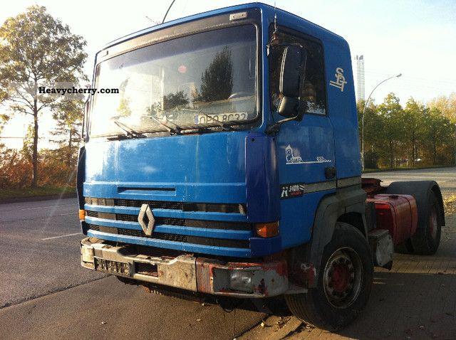 1991 Renault Major 350-385 420 SPRING SPRING 1991