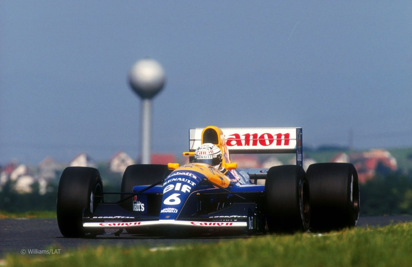 1991 Williams-Renault FW14, Hungaroring, 1991