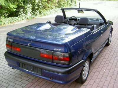 1992 Renault 19 Cabrio Azur Phase II