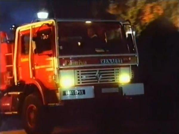 1992 Renault Midliner Fire Truck