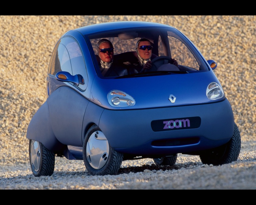 1992 Renault Zoom Electric City Car Concept 1992