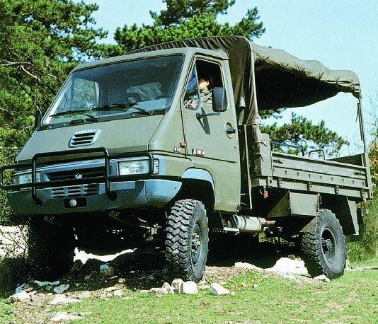 1993 Renault В-110, 4x4