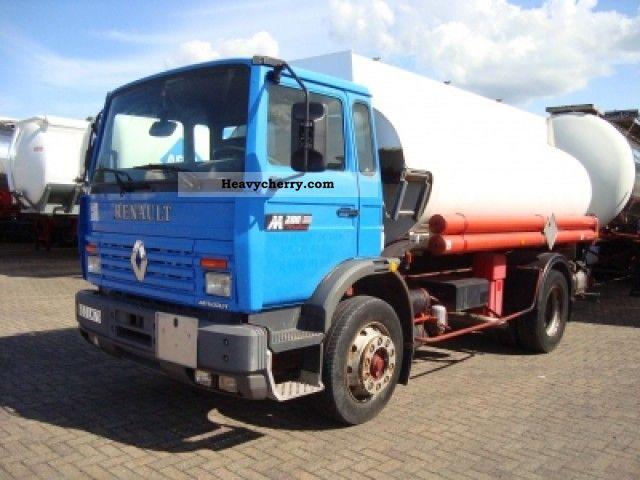 1993 Renault M200 Fueltank 10m3