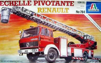 1994 Italeri 784 Renault echelle Pivotante pompier