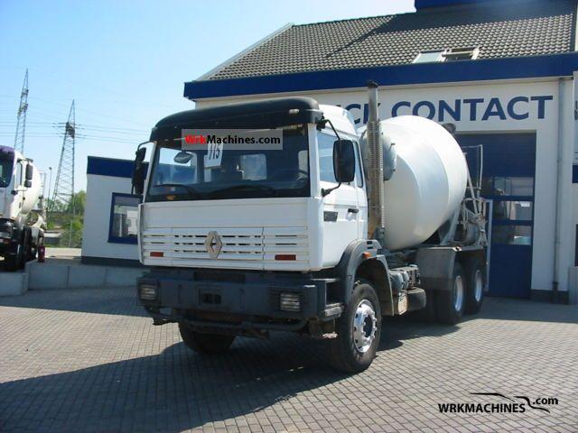 1995 RENAULT C 300.26 1995 Cement mixer Truck