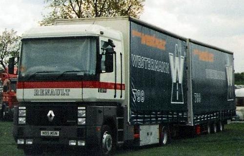 1995 Renault Magnum N99 MSN