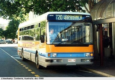 1995 Renault PR100-Austral Denning Bus Canberra