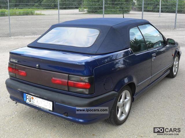 1996 Renault R19 Cabriolet 1.8 Cap Ferrat Cabrio