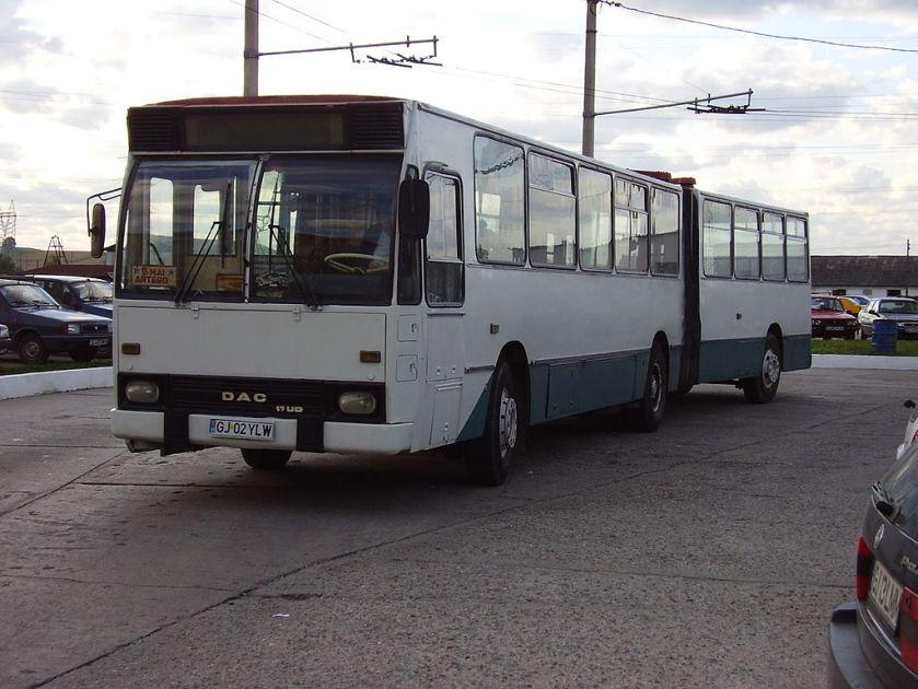 1996 Rocar 117UD bus in Târgu Jiu