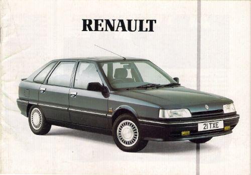 1998-90 Renault 5 19 25 Espace 25 Alpine GTA Brochure