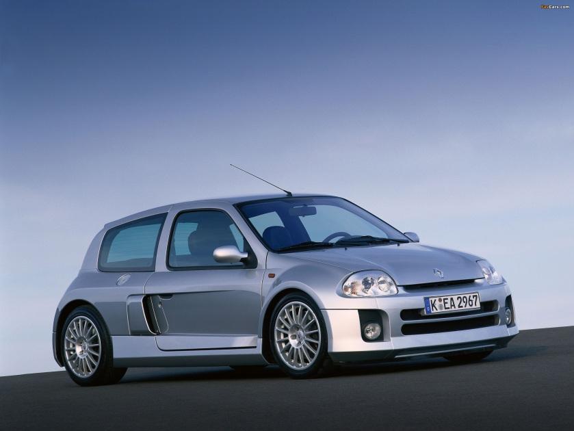 1999 Renault Clio V6 Sport