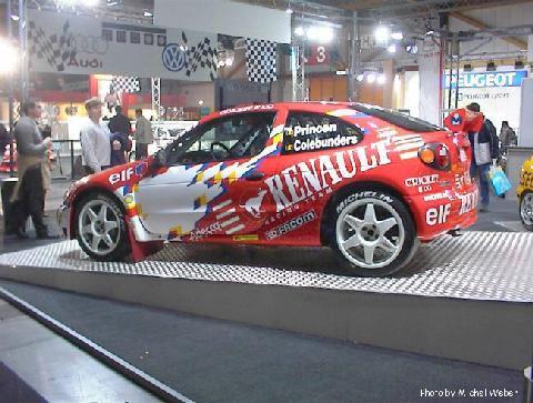 1999 Renault Megane Coupe Rallye 2