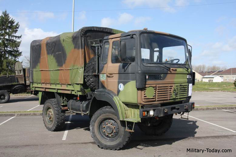 2000 Renault TRM 2000. Light Utility Truck