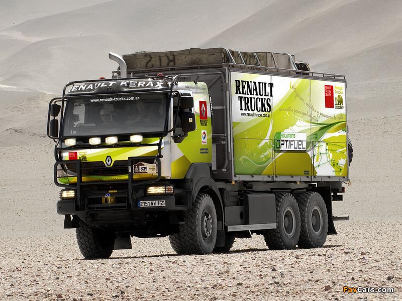 2003 Renault Kerax 6x6 Dakar Rally Service Truck
