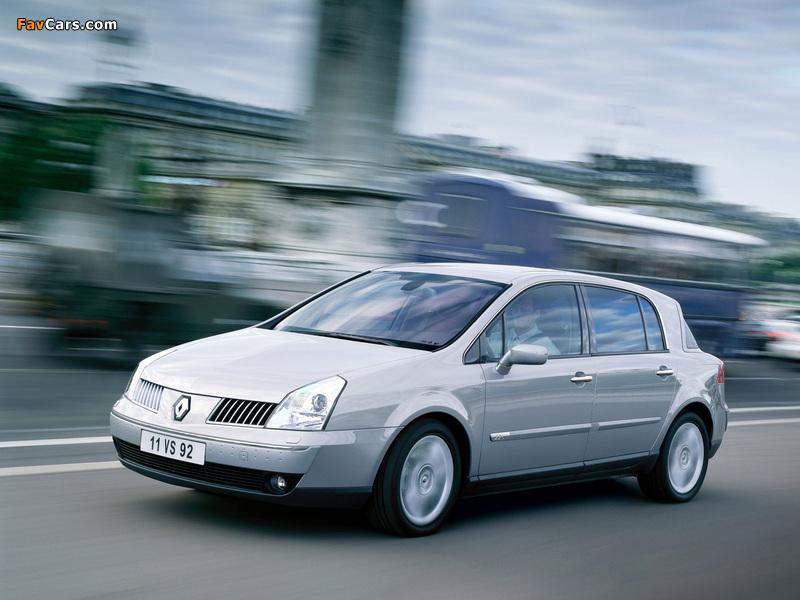 2003 Renault Vel Satis 2001–05
