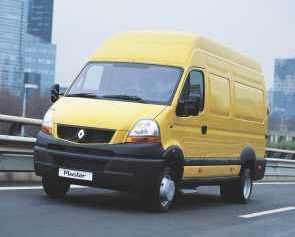 2007 Renault master propulsion