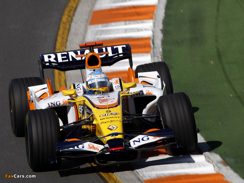 2008 renault formula-1
