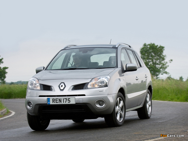 2008 Renault Koleos UK-spec