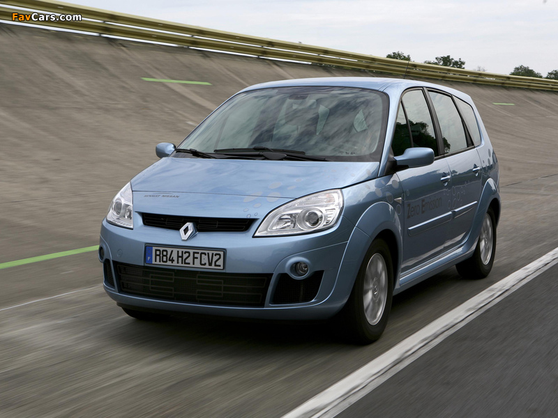 2008 renault scenic ZEV H2 concepts