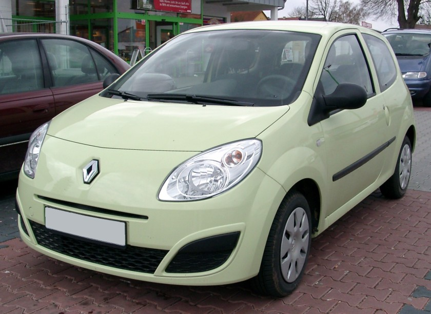 2008 Renault Twingo front
