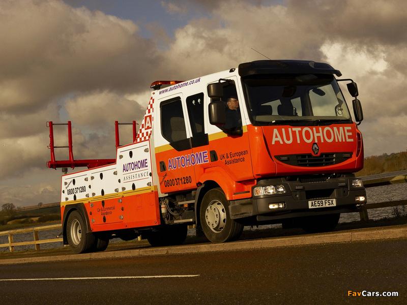 2009 renault_midlum_Tow Truck UK