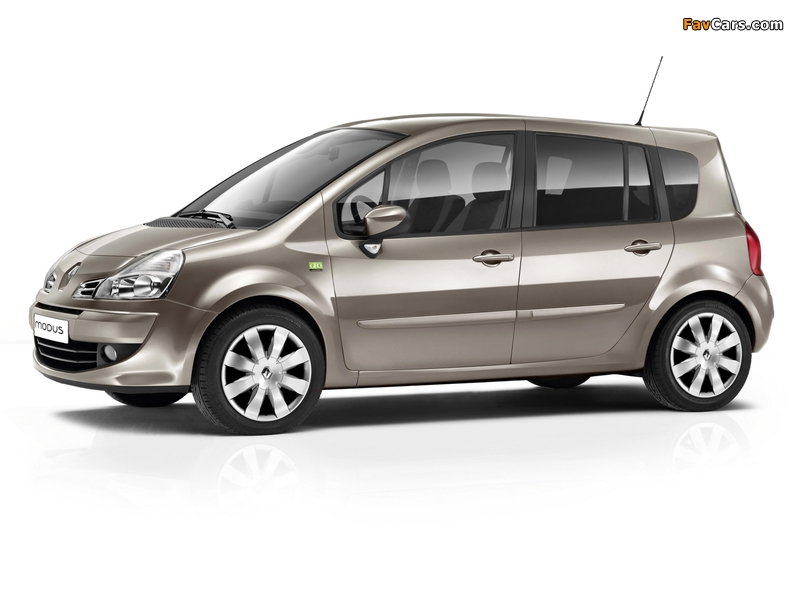 2010 Renault Grand Modus GEO Collections
