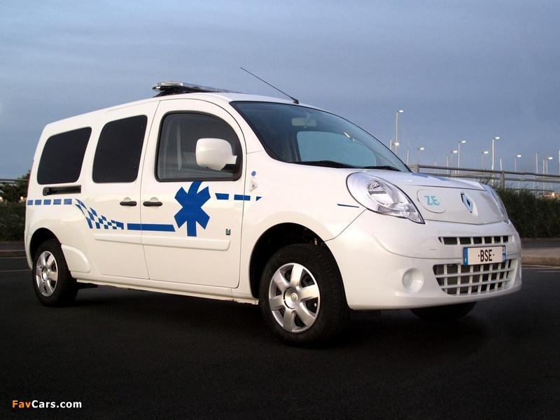 2011 renault kangoo ambulance