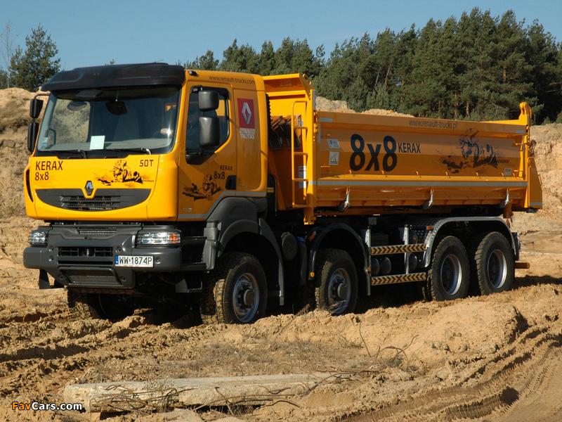 2011 Renault Kerax 8x8 Tipper 2011–13