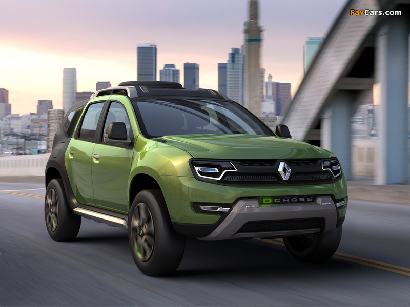 2012 renault D Cross duster