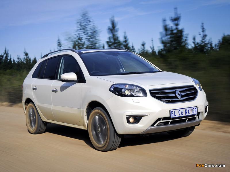 2012 Renault Koleos ZA-spec