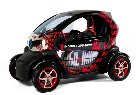 2012 Renault Twizy Z.E. by Cathy & David Guetta