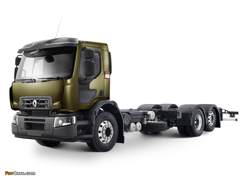 2013 renault d-series-trucks Wide 6x2