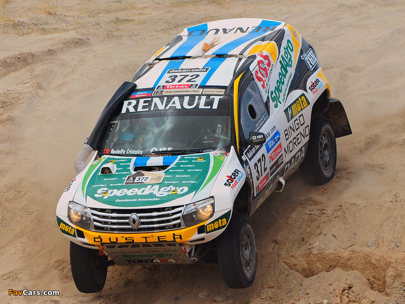 2013 renault duster rally dakar
