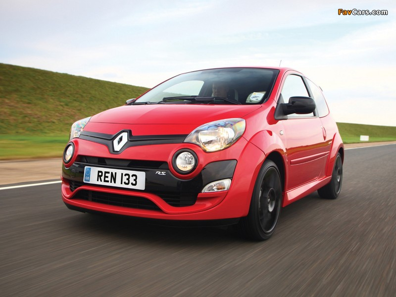 2013 Renault Twingo R.S. 133 UK-spec