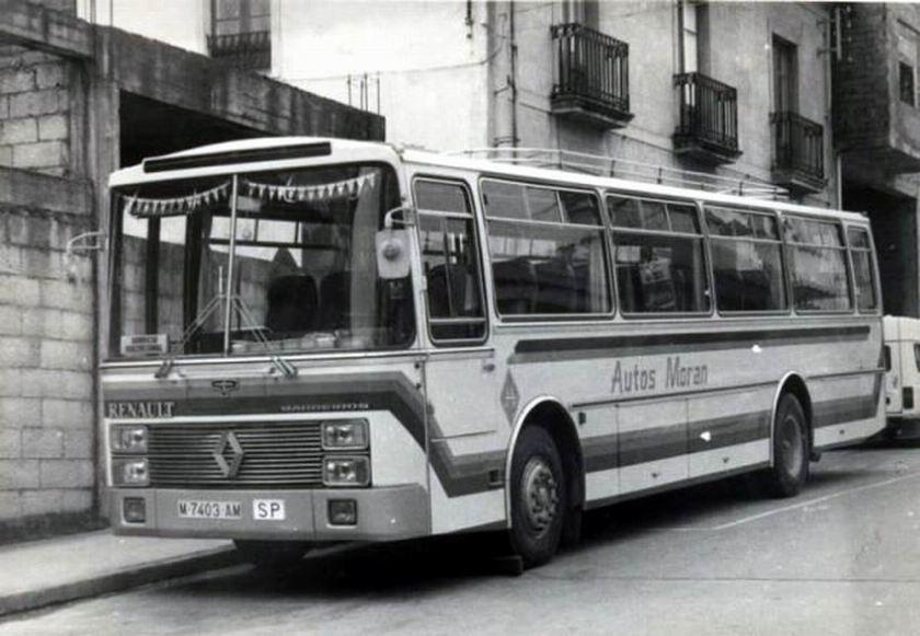 Barreiros 5300 con carroceria Van Hool Renault