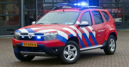 Brandweer truck-dacia_duster