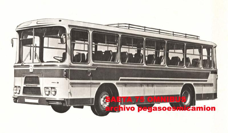 Bussen SAETA 75 Omnibus Pegaso esp