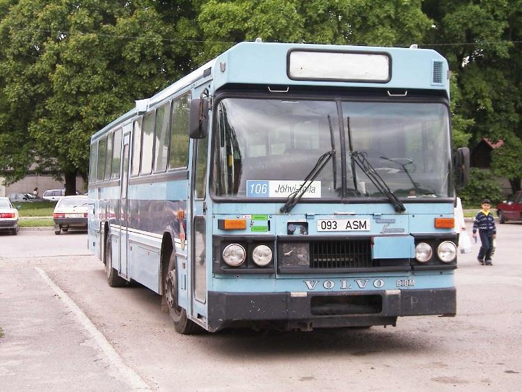 Bussen Säffle Karosseri Volvo ( 1984 ) Estland