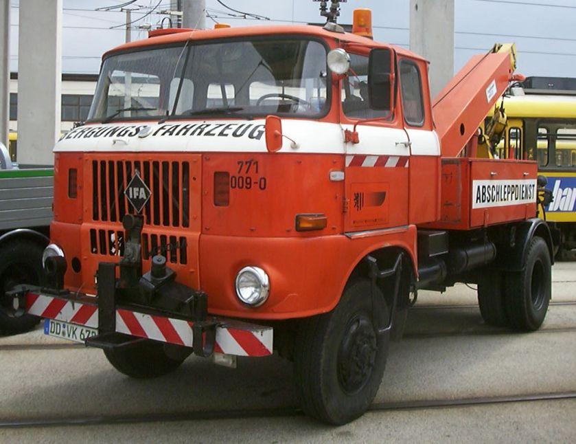 IFA W50 LA Bergungsfahrzeug
